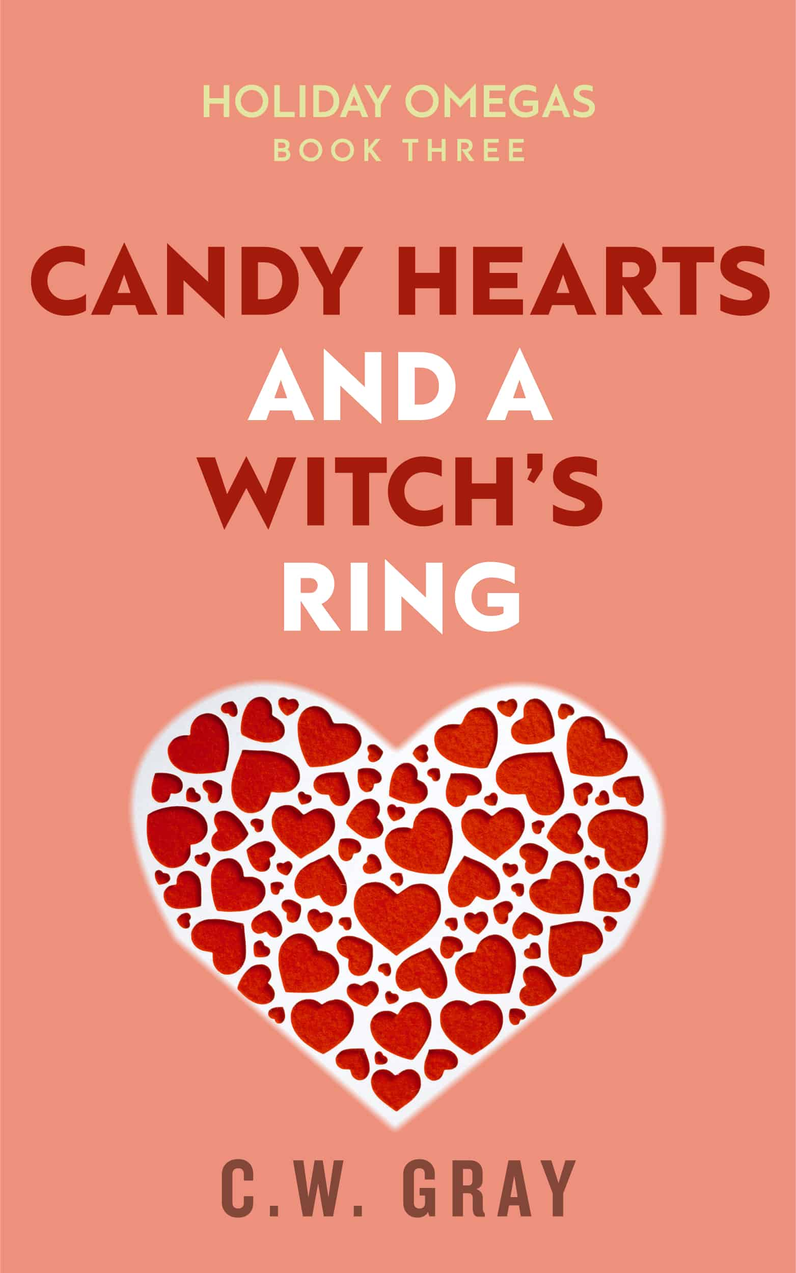Candy Hearts and a Witch's Ring - High Resolution